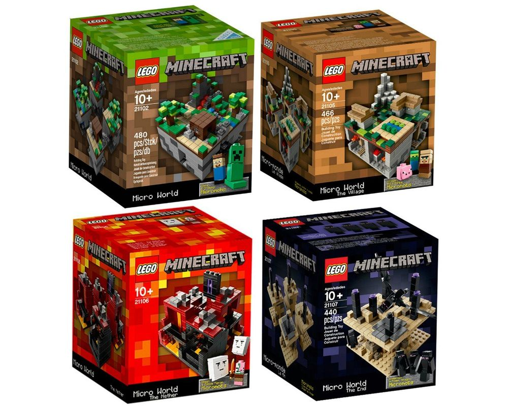 LEGO Set 5004192-1 Minecraft Micro World Collection (LEGO - Model)