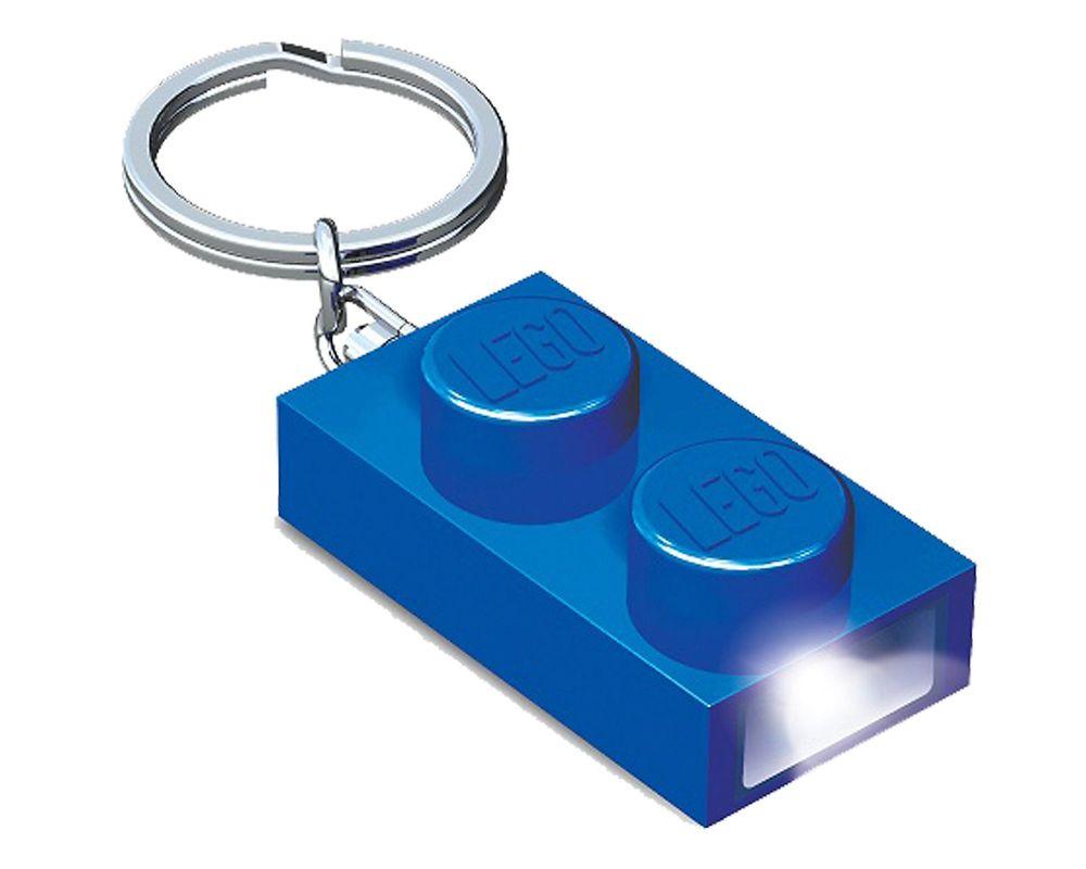 LEGO Set 5004262-1 1x2 Brick Key Light (Blue)