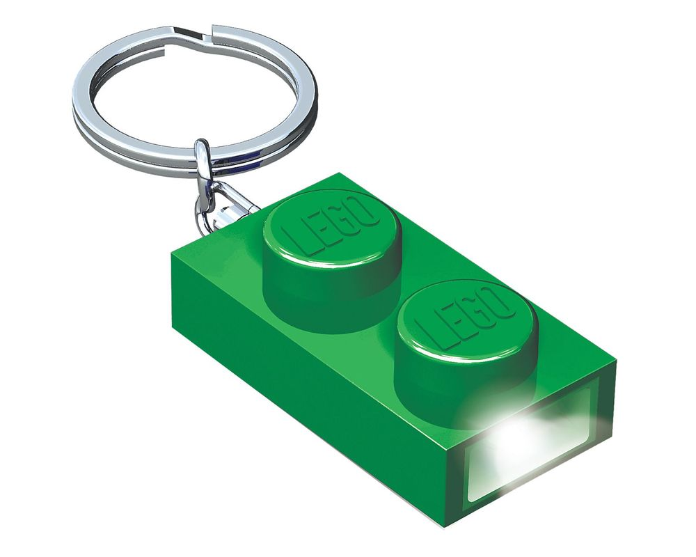 LEGO Set 5004263-1 1x2 Brick Key Light (Green)