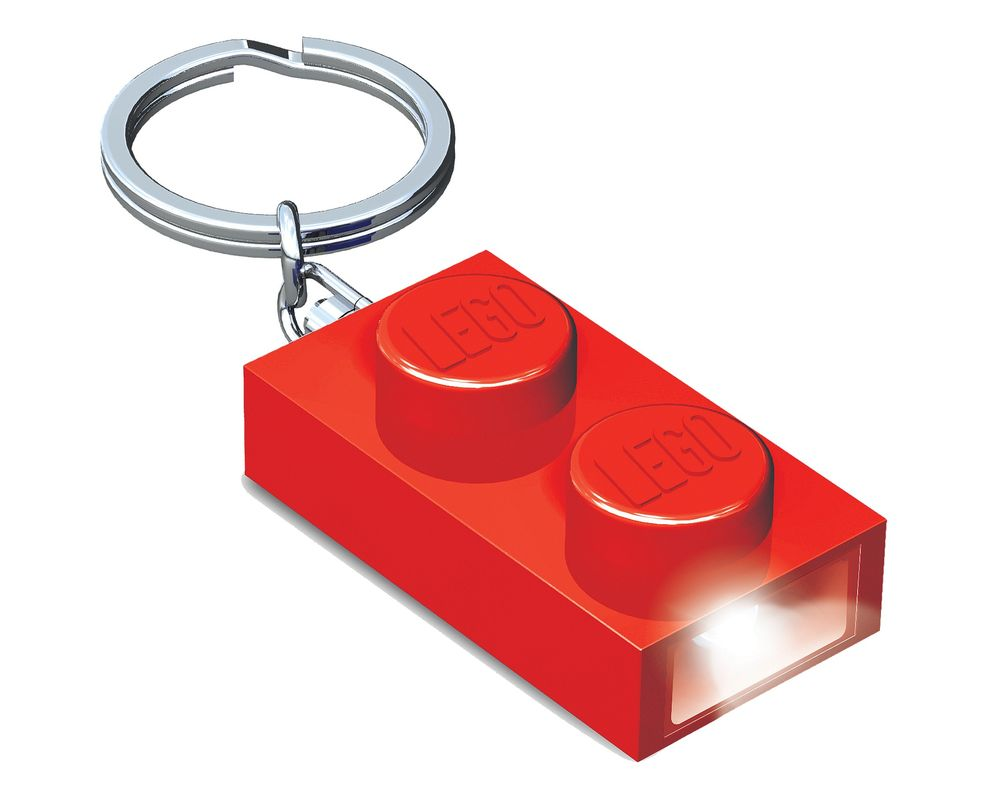 LEGO Set 5004264-1 1x2 Brick Key Light (Red) (LEGO - Model)