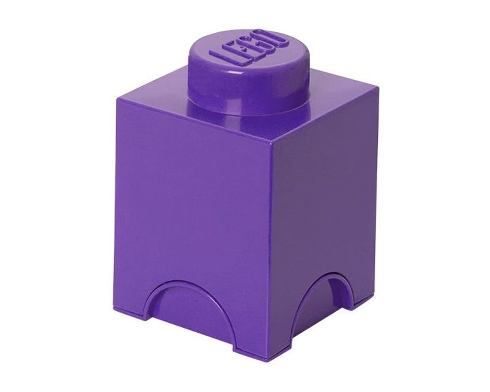 LEGO Set 5004274-1 Friends Single Stud Storage Brick Medium Lilac (Model - A-Model)