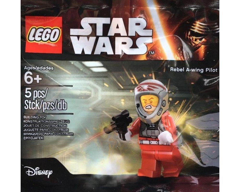 LEGO Set 5004408-1 Rebel A-wing Pilot (Model - A-Model)