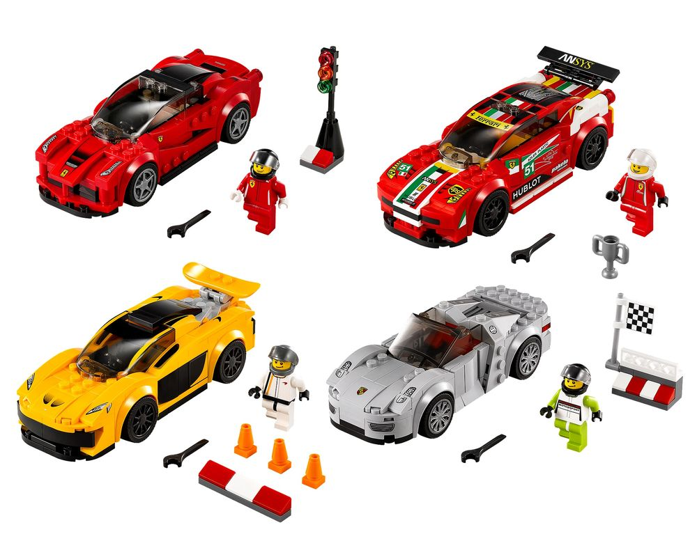 LEGO Set 5004550-1 Speed Champions Collection (Model - A-Model)