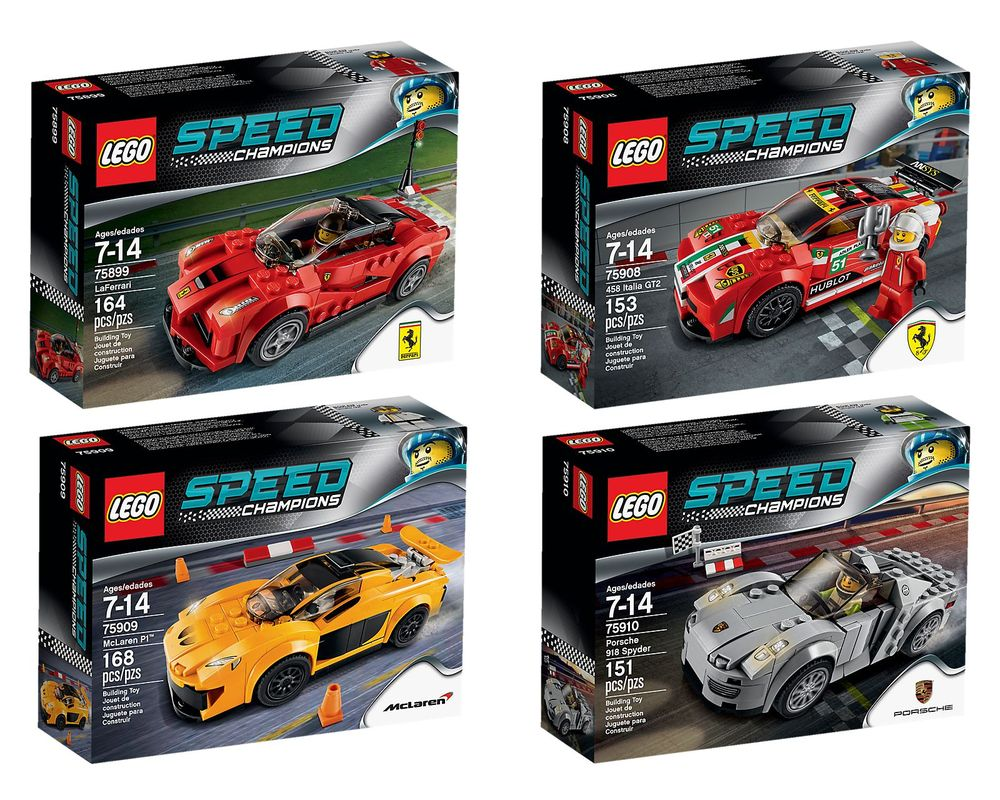 LEGO Set 5004550-1 Speed Champions Collection