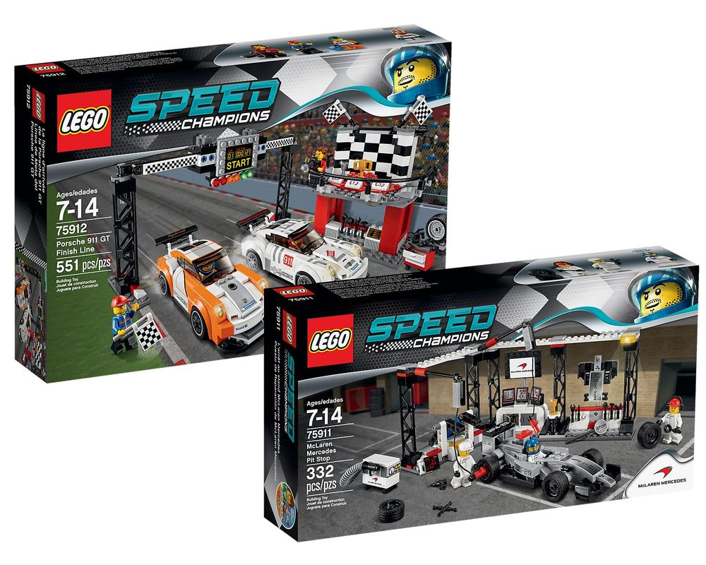 LEGO Set 5004559-1 Speed Champions Collection 2