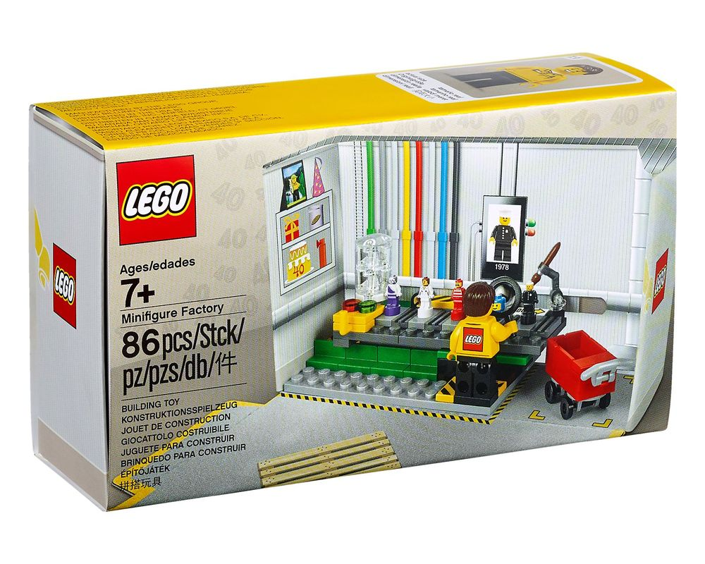 LEGO Set 5005358-1 Minifigure Factory