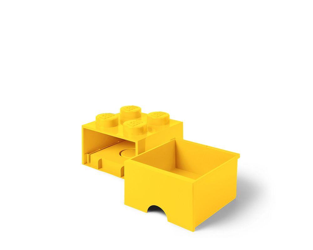 LEGO Set 5005401-1 Storage Brick Drawer (4-Stud Yellow)