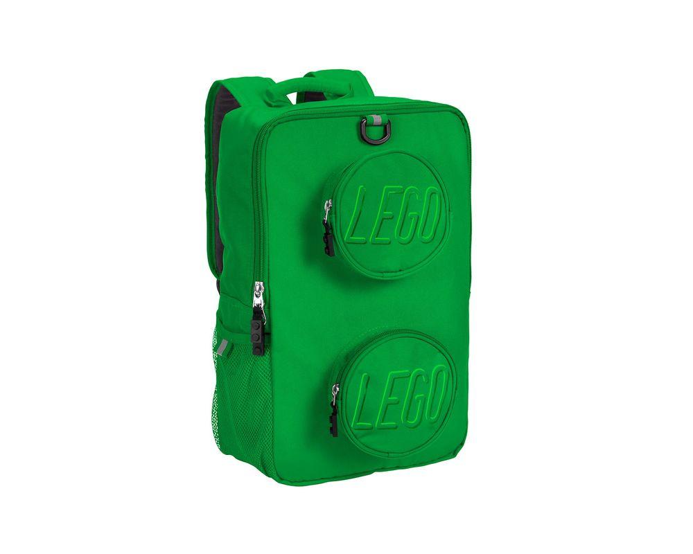 LEGO Set 5005525-1 Brick Backpack (Green)