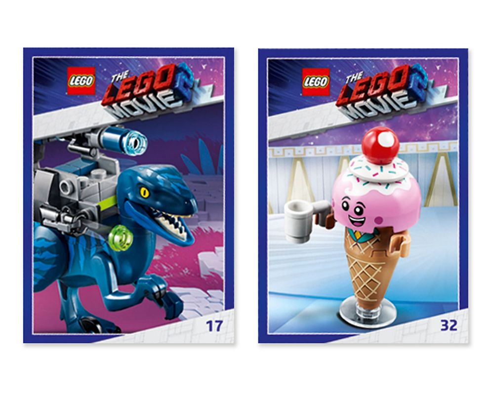 LEGO Set 5005775-1 The LEGO Movie 2 Awesome Trading Cards