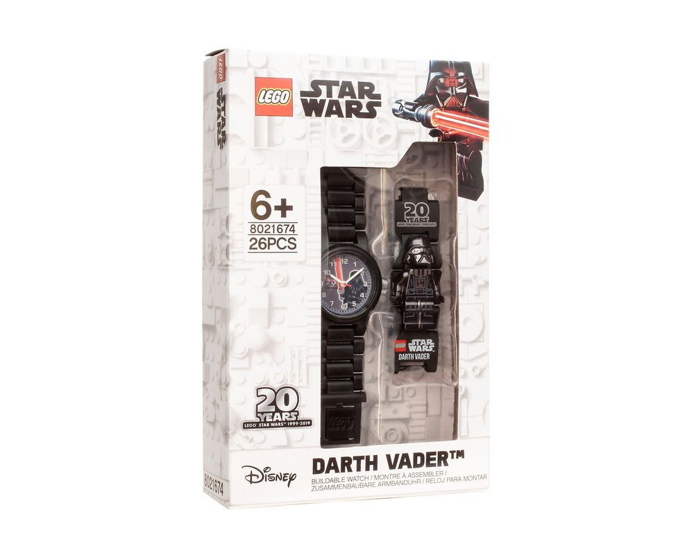 LEGO Set 5005824-1 Darth Vader Minifigure Link Watch: 20th Anniversary