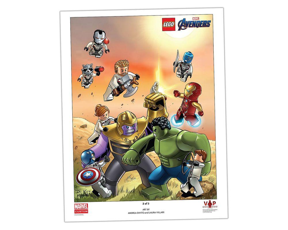LEGO Set 5005881-1 Avengers: Endgame Art Print