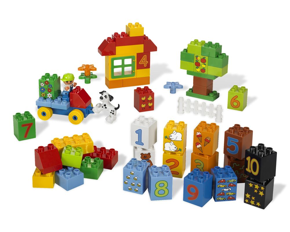LEGO Set 5497-1 Play with Numbers (Model - A-Model)