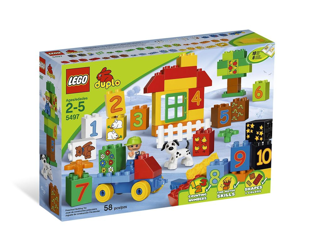 LEGO Set 5497-1 Play with Numbers