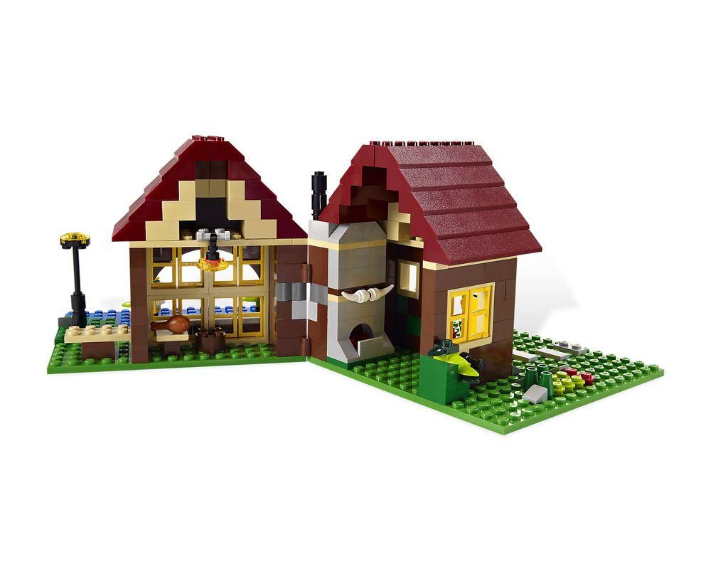 LEGO Set 5766-1 Log Cabin