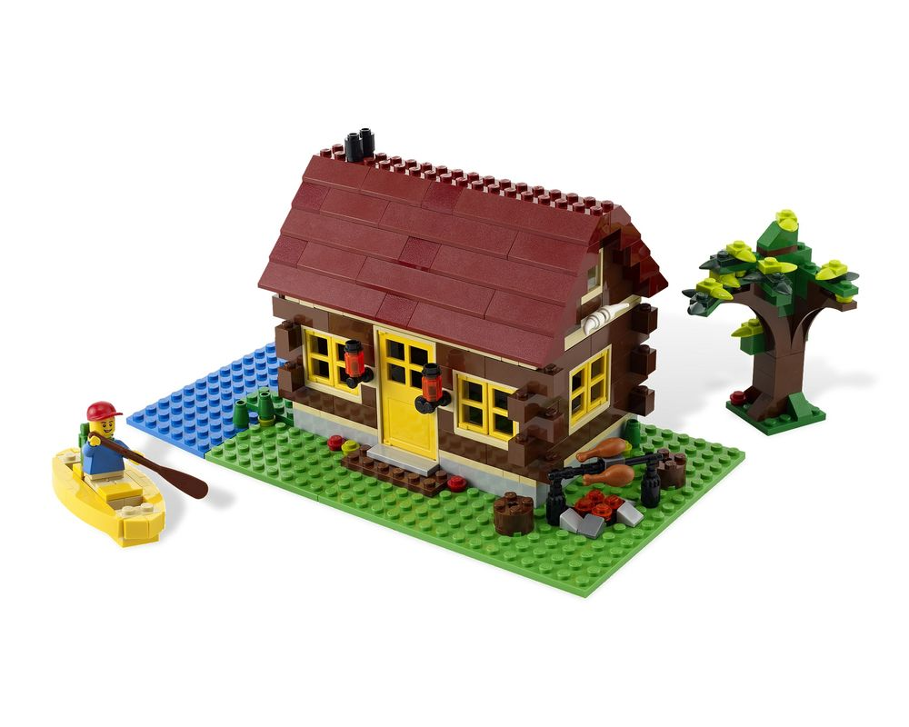 LEGO Set 5766-1 Log Cabin (LEGO - Model)