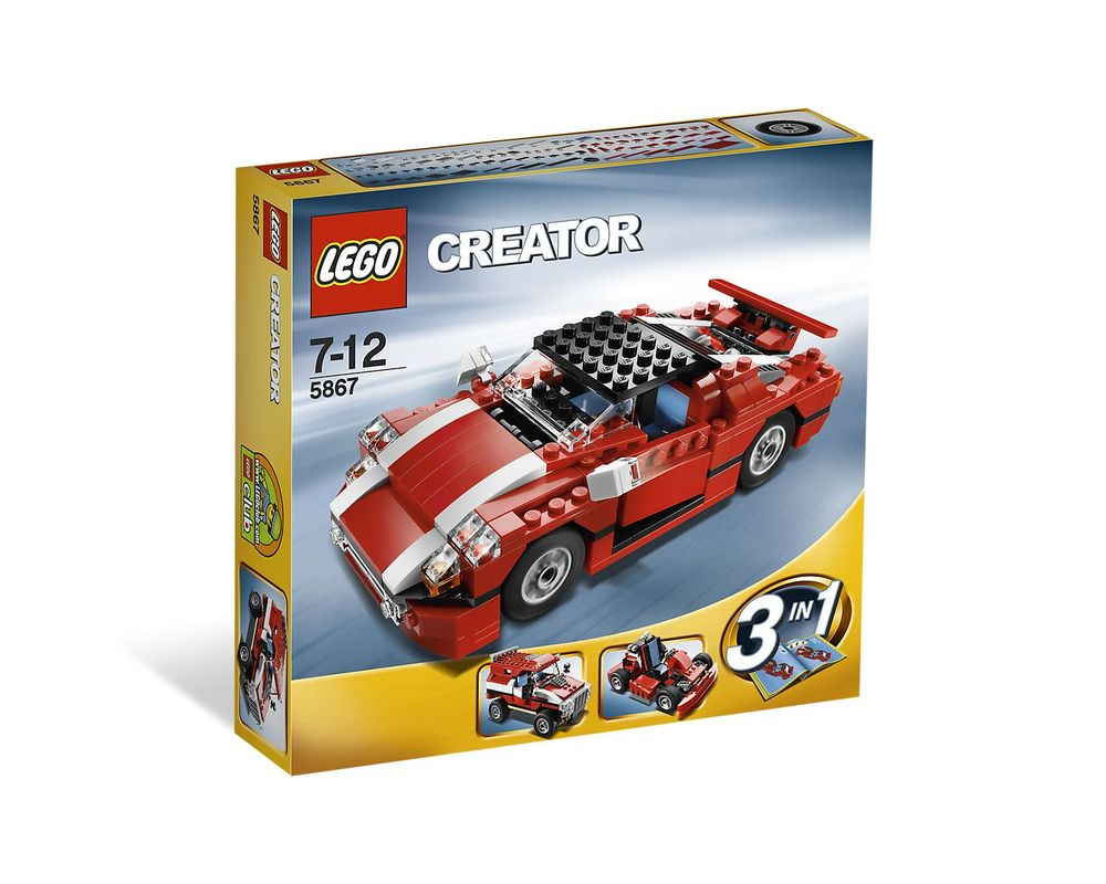LEGO Set 5867-1 Super Speedster