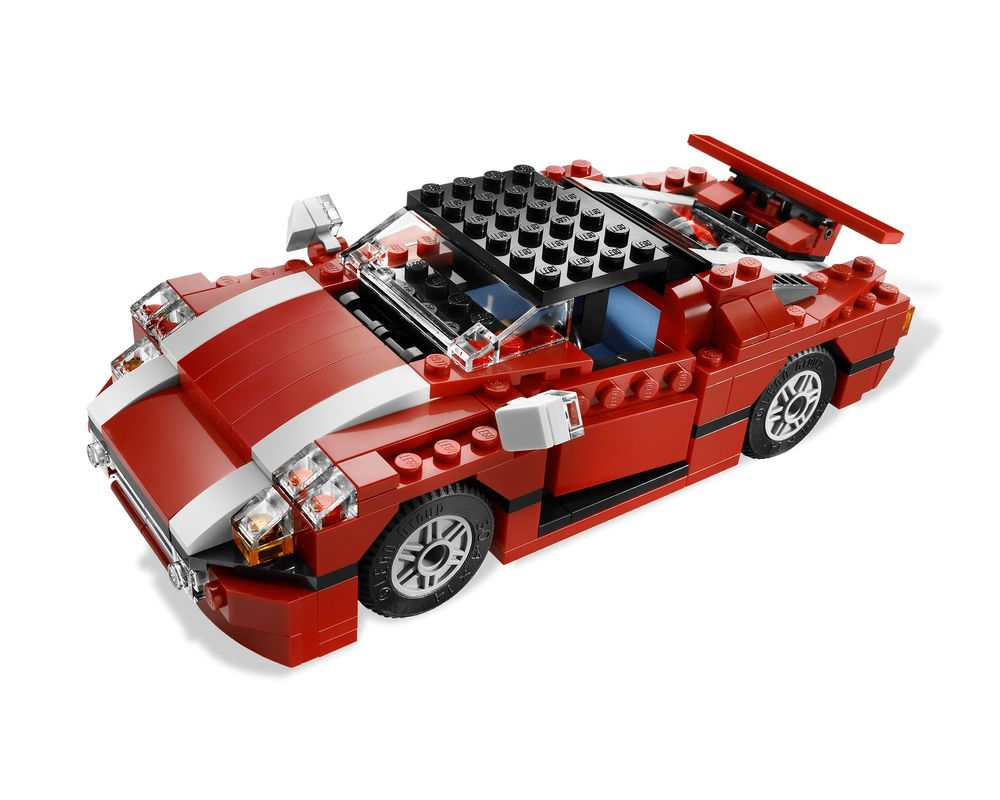 LEGO Set 5867-1 Super Speedster (Model - A-Model)