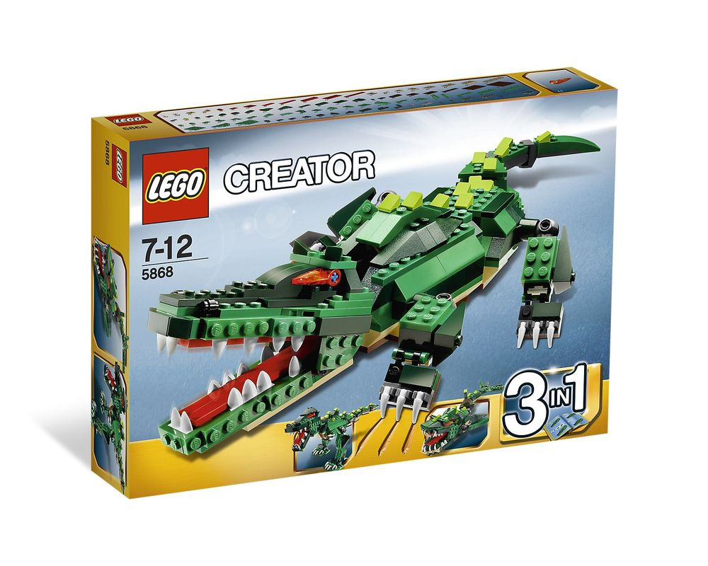 LEGO Set 5868-1 Ferocious Creatures