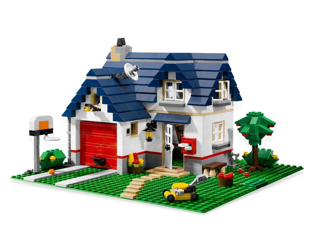 LEGO Set 5891-1 Apple Tree House (Model - A-Model)