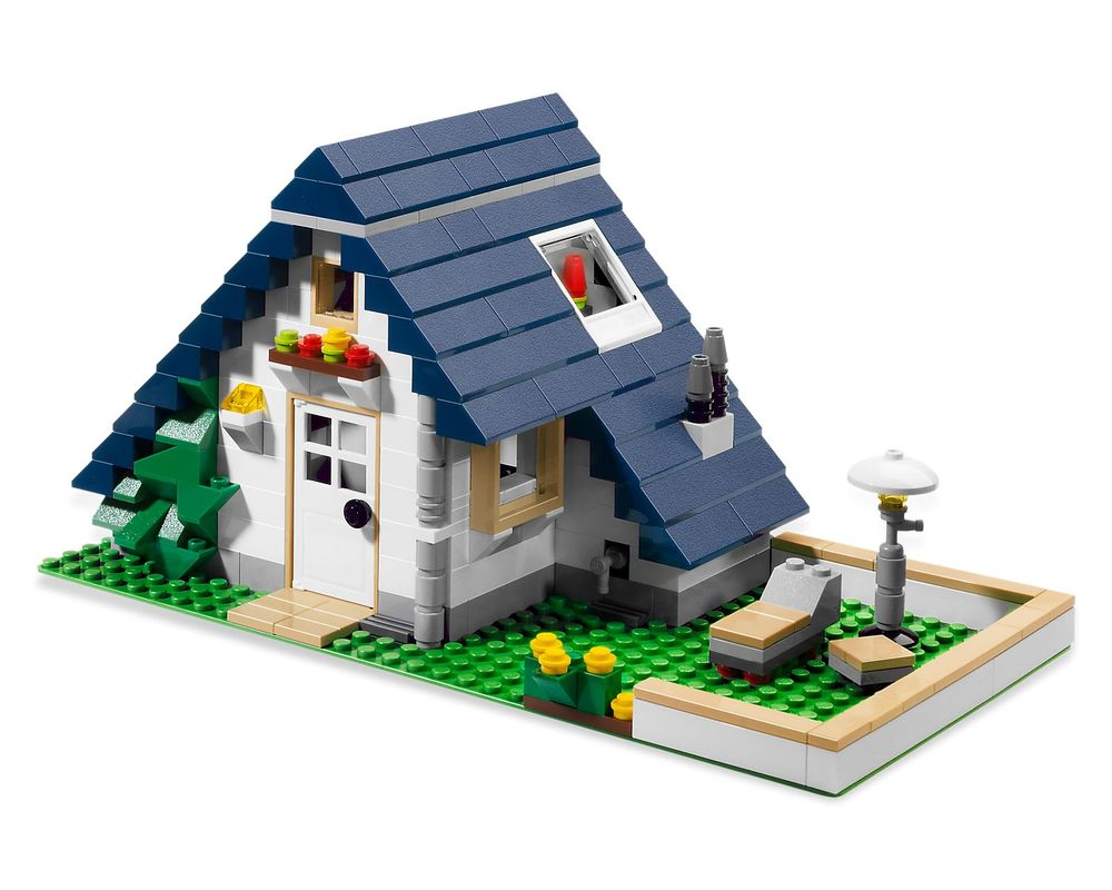LEGO Set 5891-1 Apple Tree House