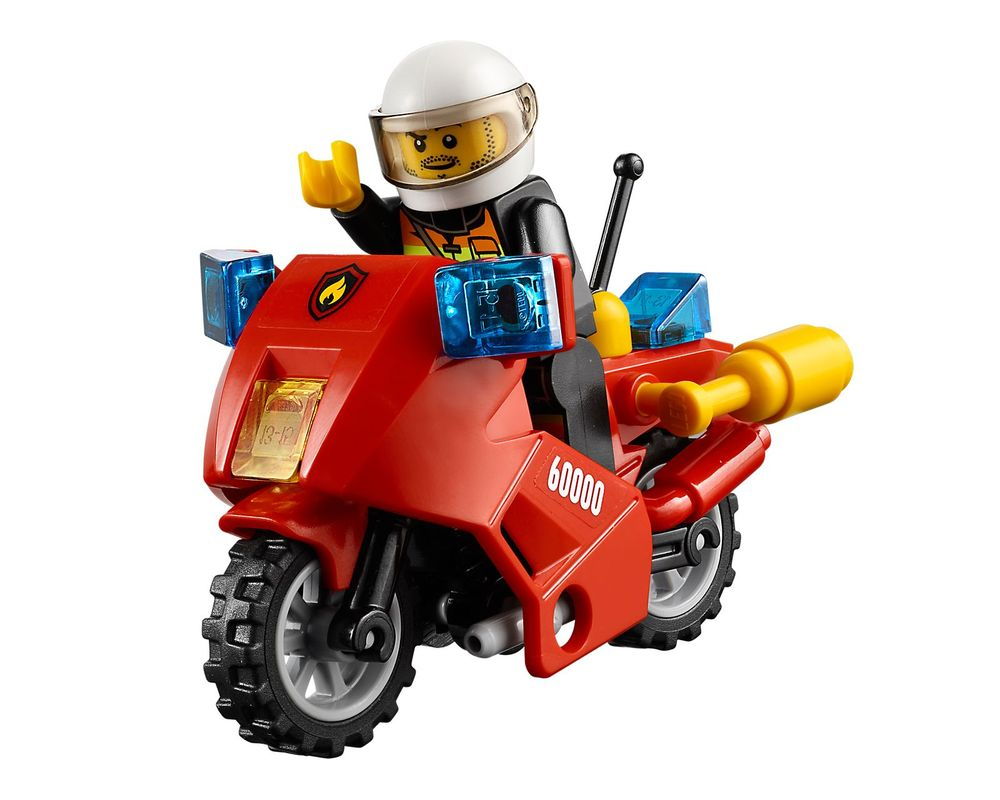 LEGO Set 60000-1 Fire Motorcycle