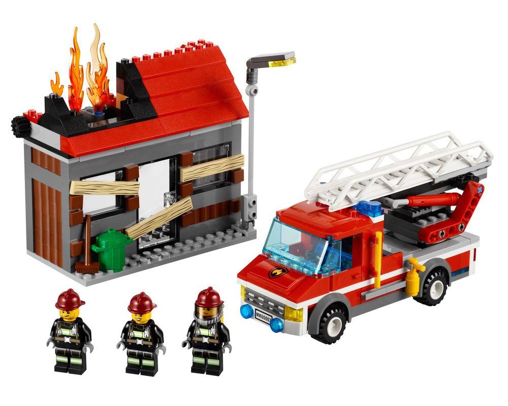 LEGO Set 60003-1 Fire Emergency (Model - A-Model)