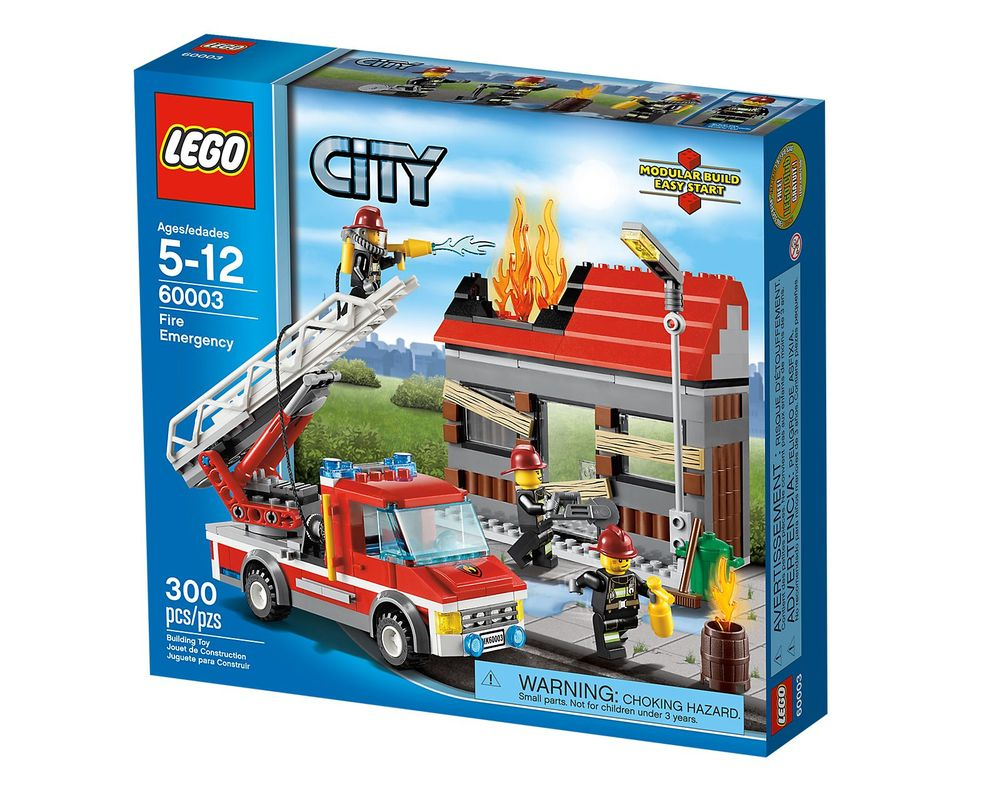 LEGO Set 60003-1 Fire Emergency