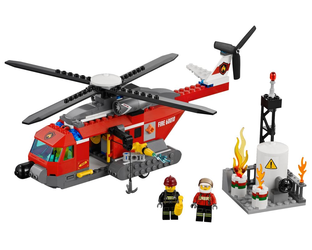 LEGO Set 60010-1 Fire Helicopter (Model - A-Model)