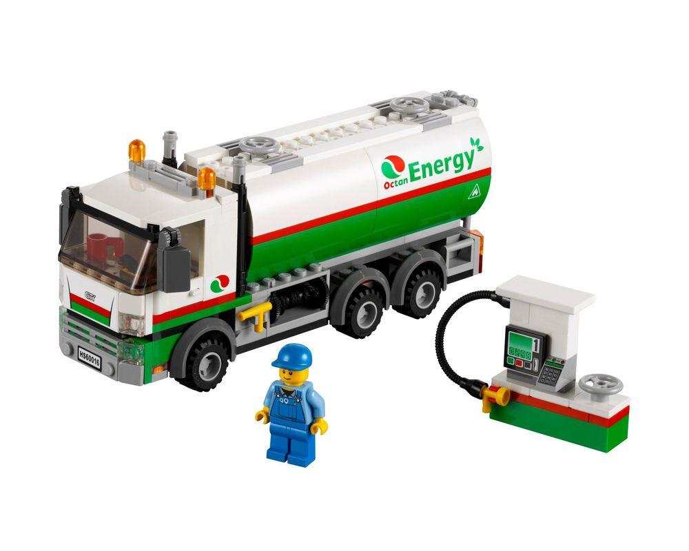 LEGO Set 60016-1 Tanker Truck (LEGO - Model)