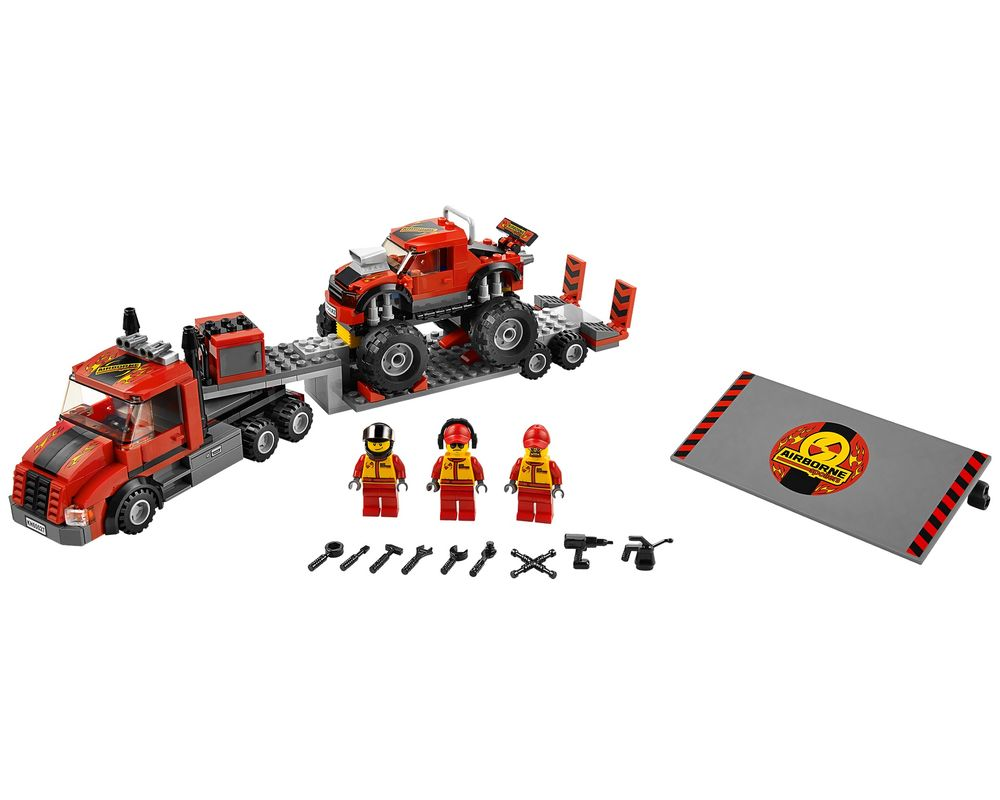 LEGO Set 60027-1 Monster Truck Transporter (Model - A-Model)