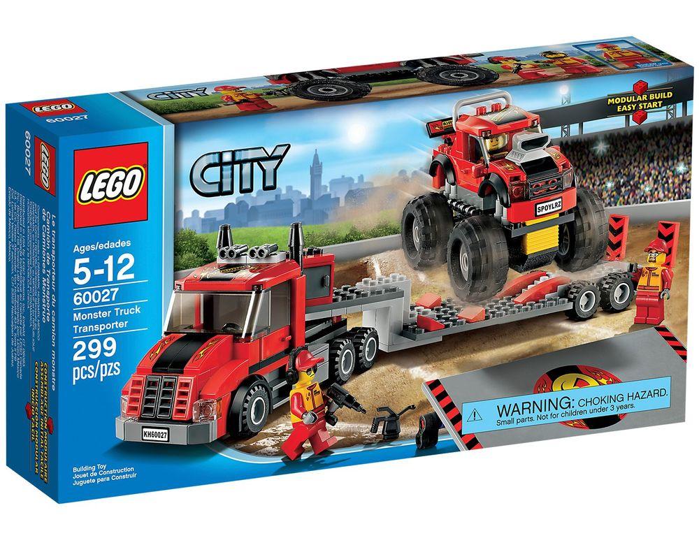 LEGO Set 60027-1 Monster Truck Transporter