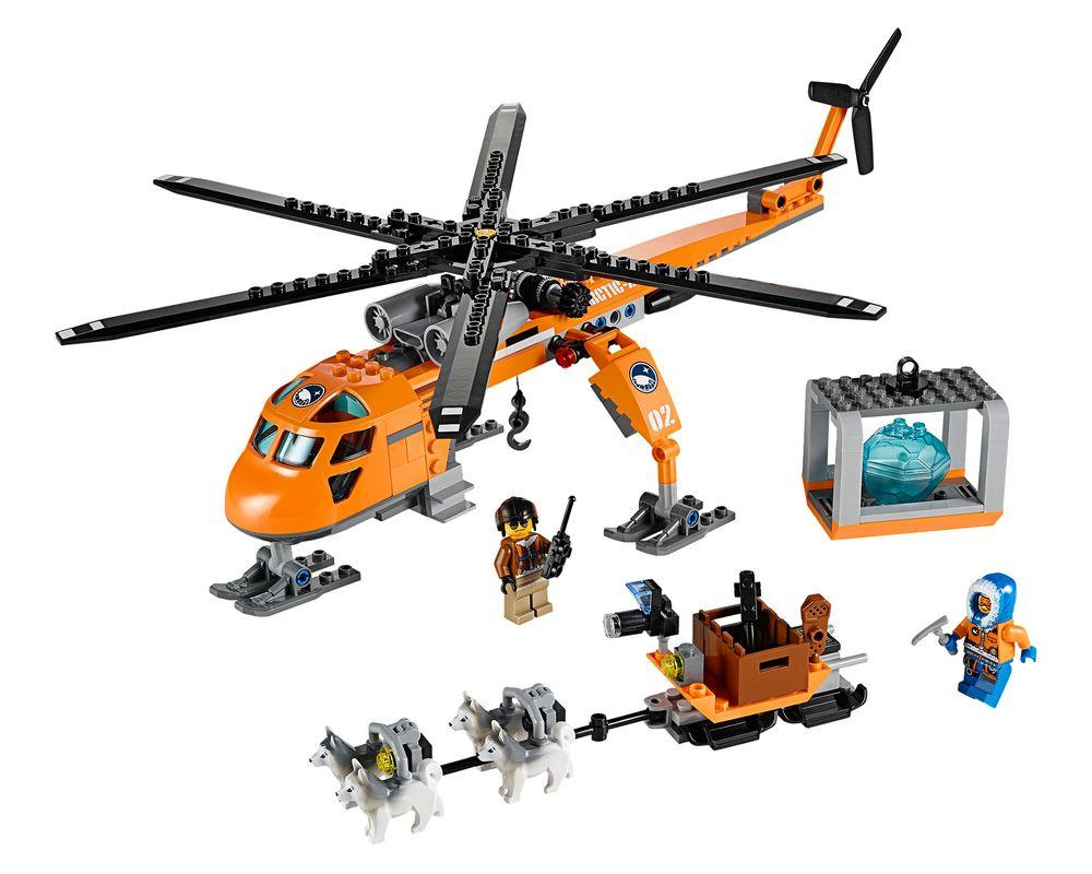 LEGO Set 60034-1 Arctic Helicrane (Model - A-Model)