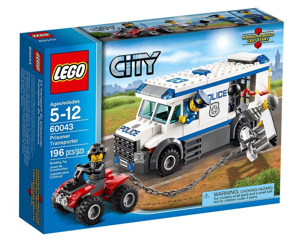 LEGO Set 60043-1 Prisoner Transporter