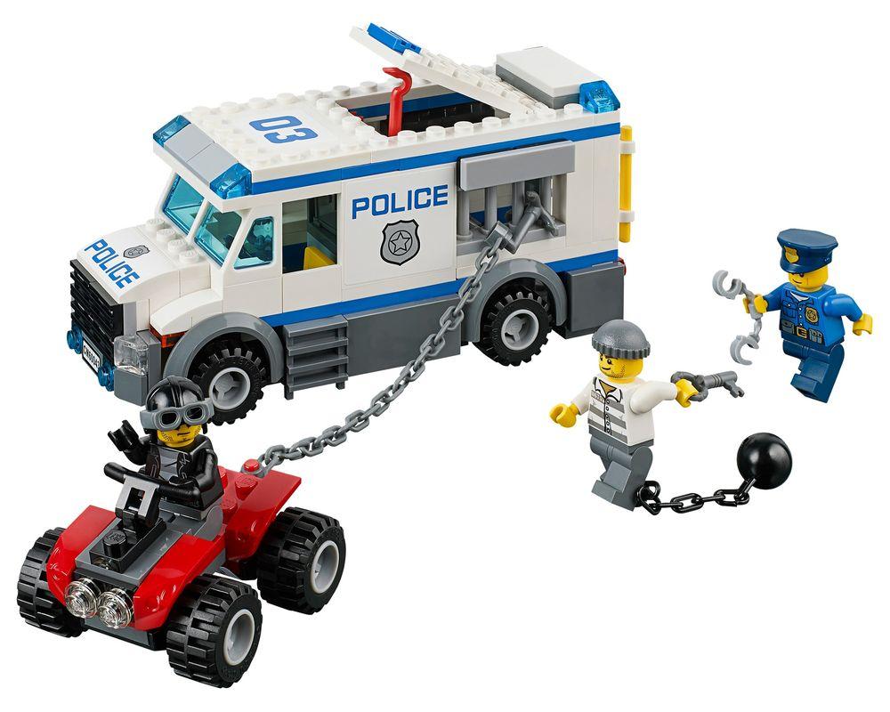 LEGO Set 60043-1 Prisoner Transporter (LEGO - Model)