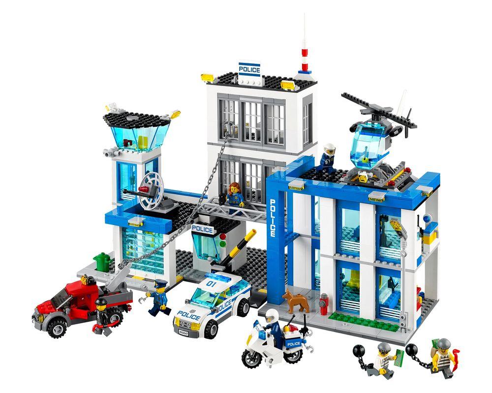 LEGO Set 60047-1 Police Station (Model - A-Model)