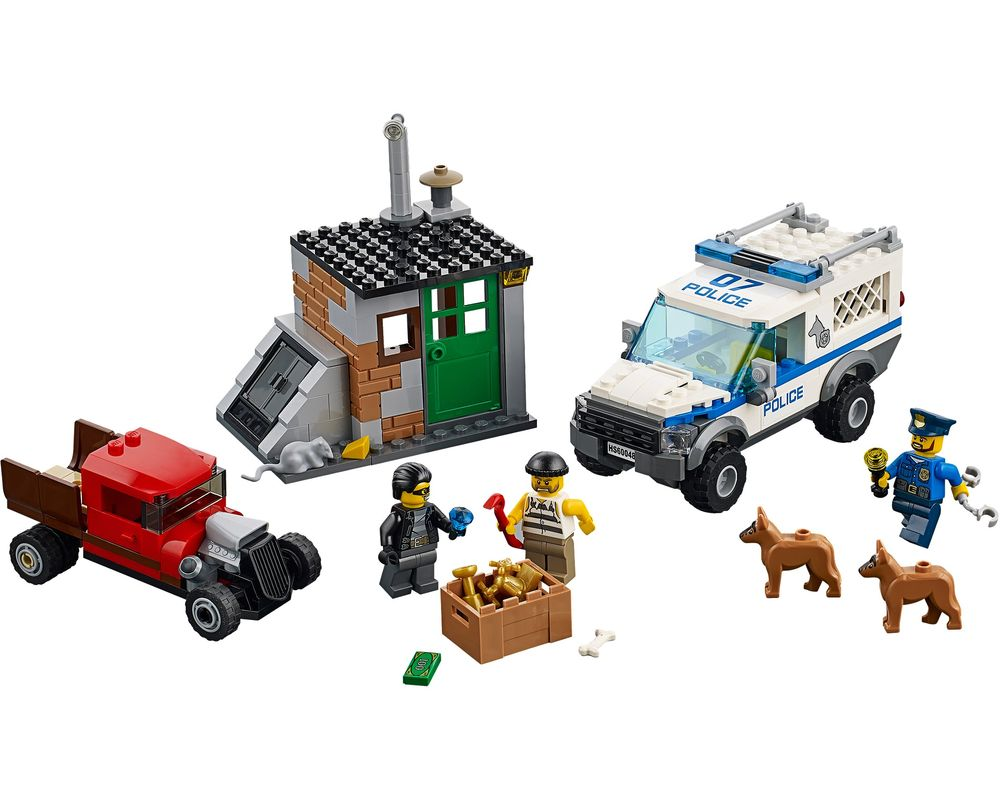 LEGO Set 60048-1 Police Dog Unit (LEGO - Model)