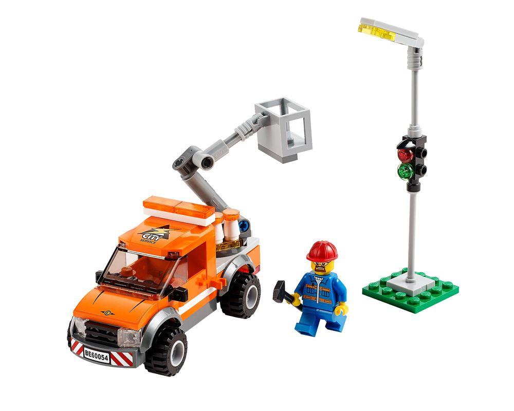LEGO Set 60054-1 Light Repair Truck (Model - A-Model)