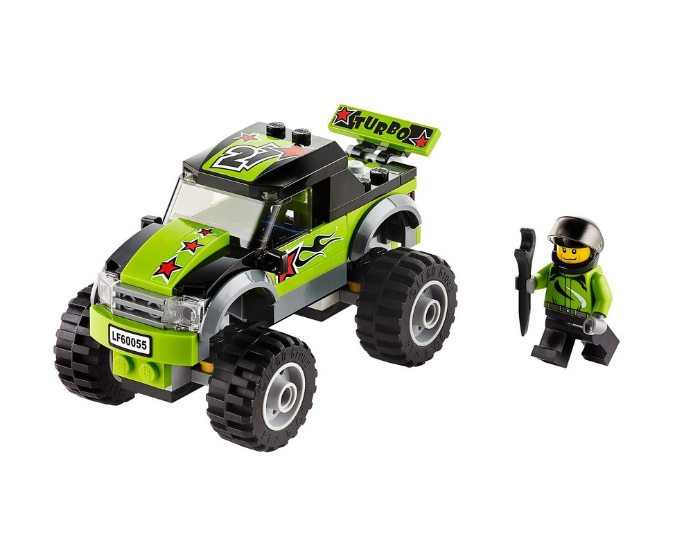 LEGO Set 60055-1 Monster Truck (Model - A-Model)