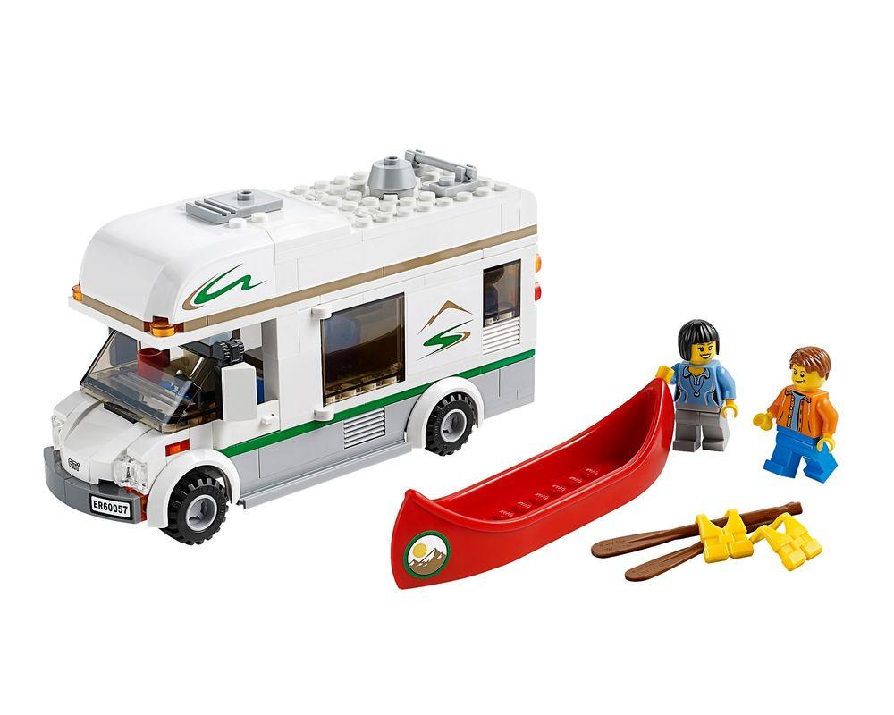 LEGO Set 60057-1 Camper Van (LEGO - Model)