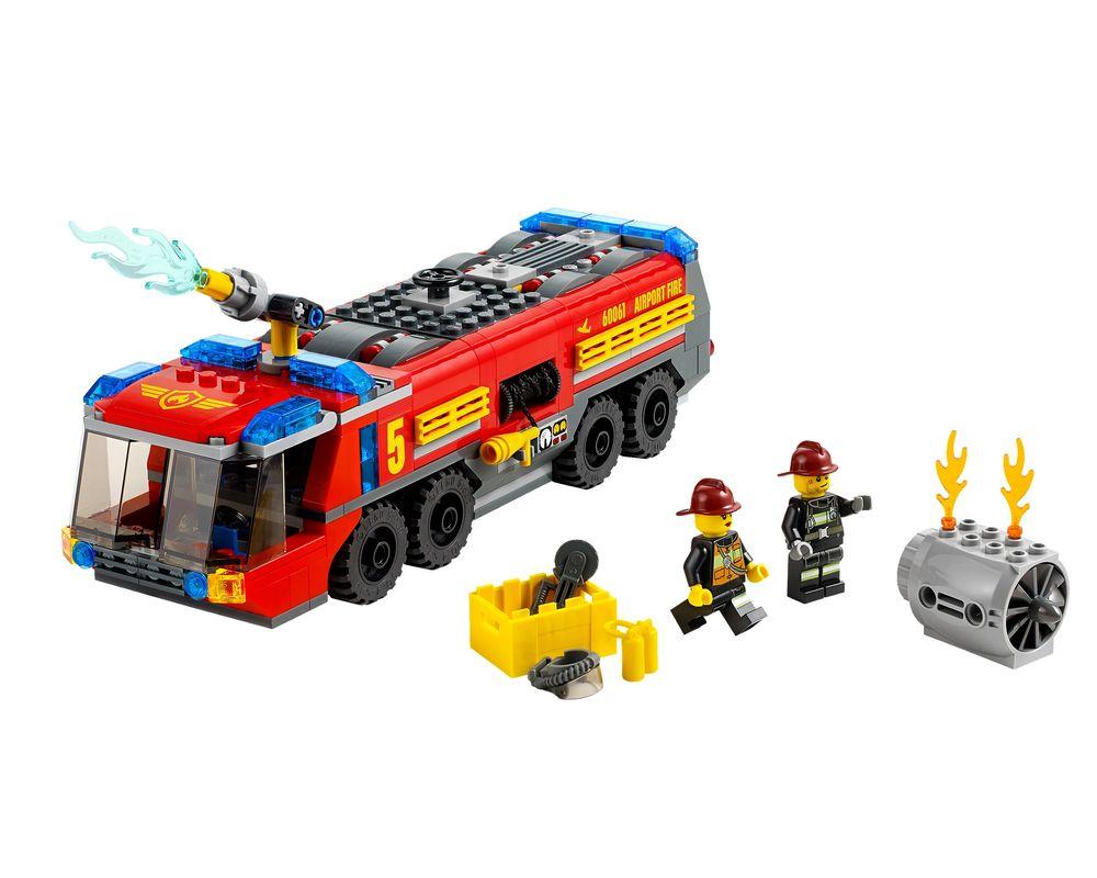 LEGO Set 60061-1 Airport Fire Truck (LEGO - Model)