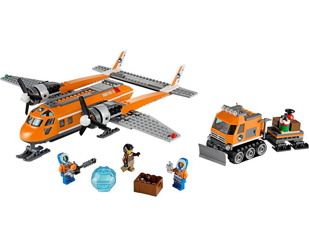 LEGO Set 60064-1 Arctic Supply Plane (Model - A-Model)