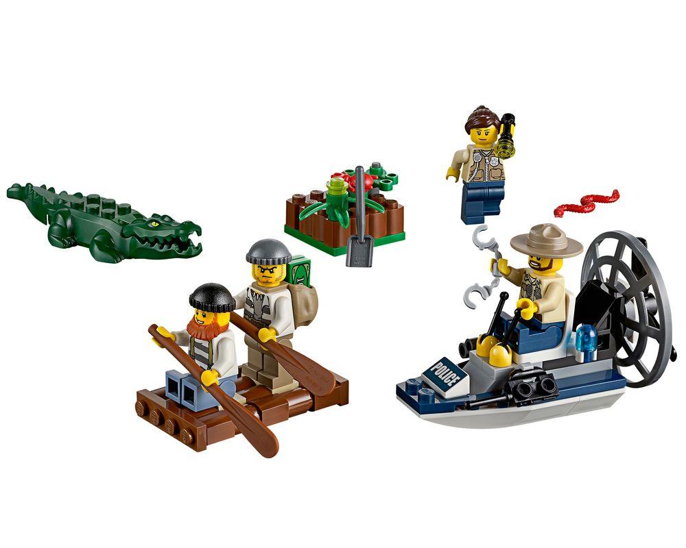 LEGO Set 60066-1 Swamp Police Starter Set (LEGO - Model)
