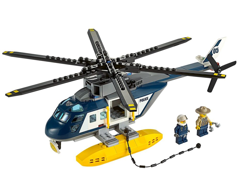 LEGO Set 60067-1 Helicopter Pursuit