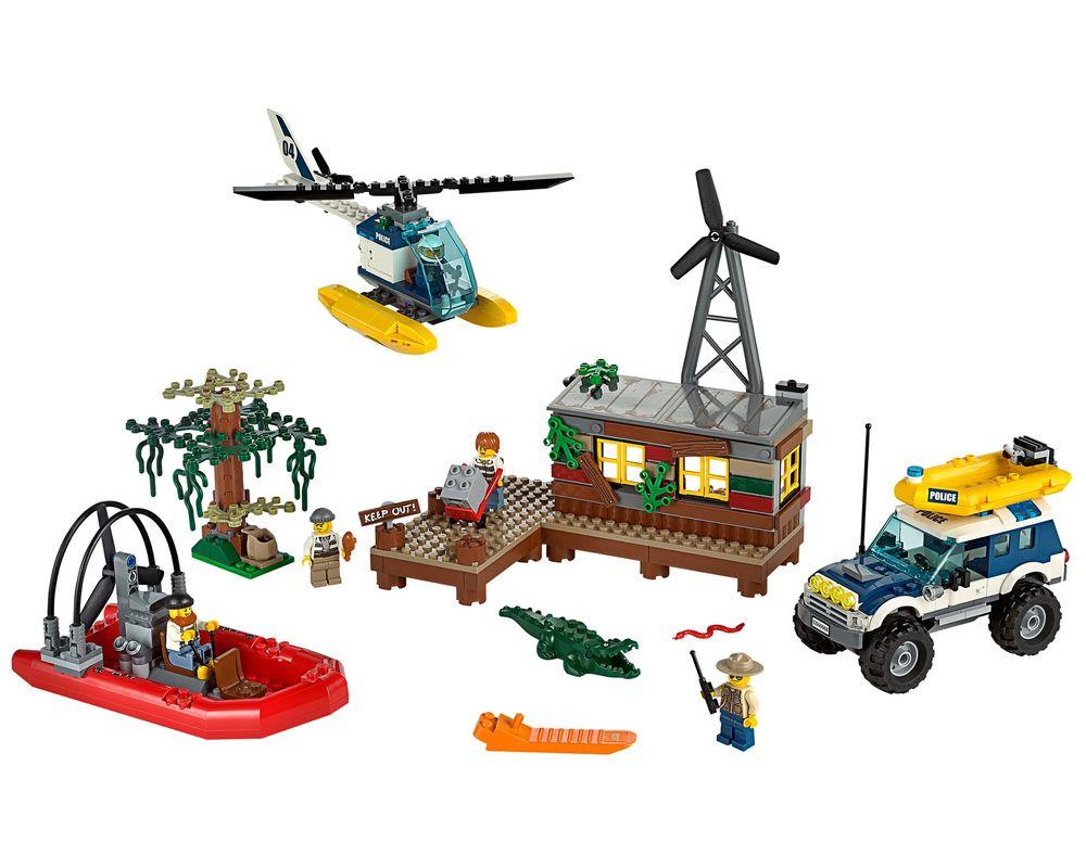 LEGO Set 60068-1 Crooks' Hideout (LEGO - Model)