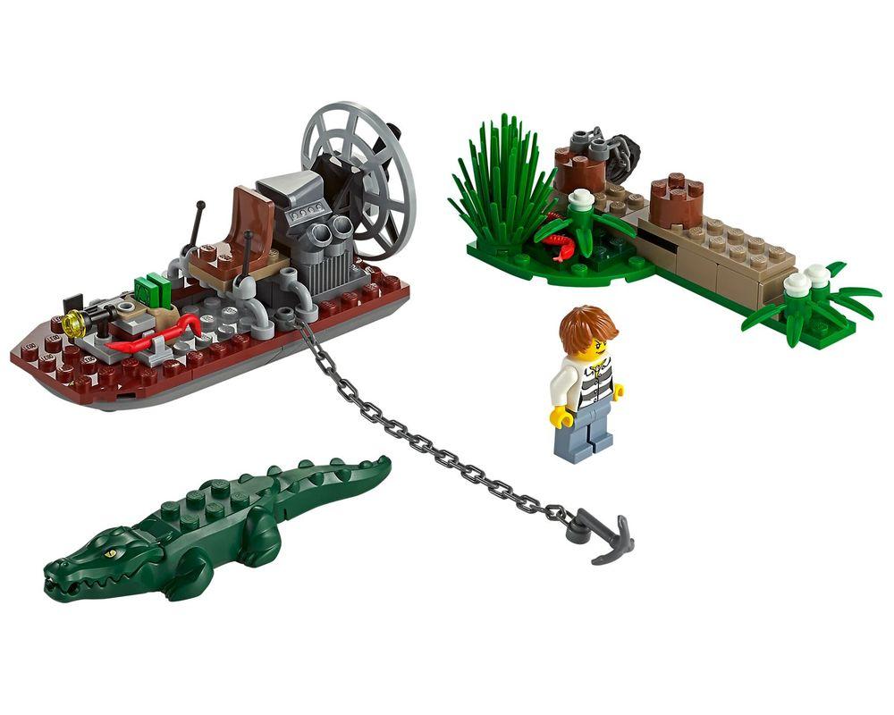 LEGO Set 60069-1 Swamp Police Station