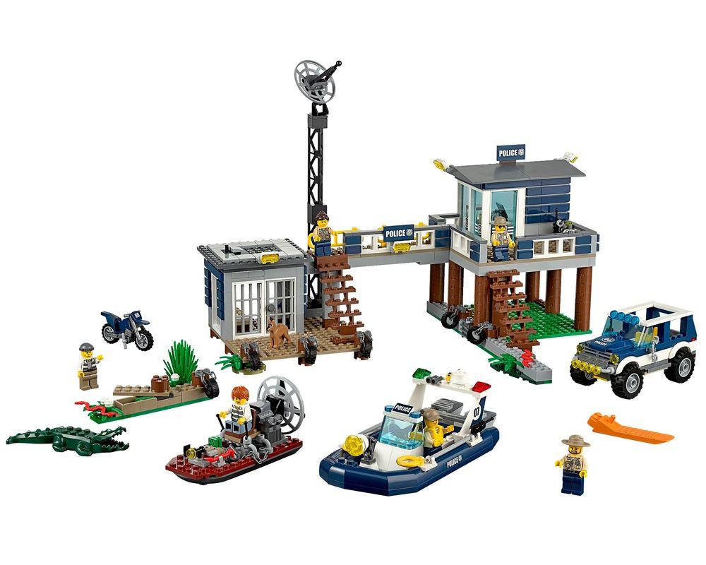 LEGO Set 60069-1 Swamp Police Station (Model - A-Model)