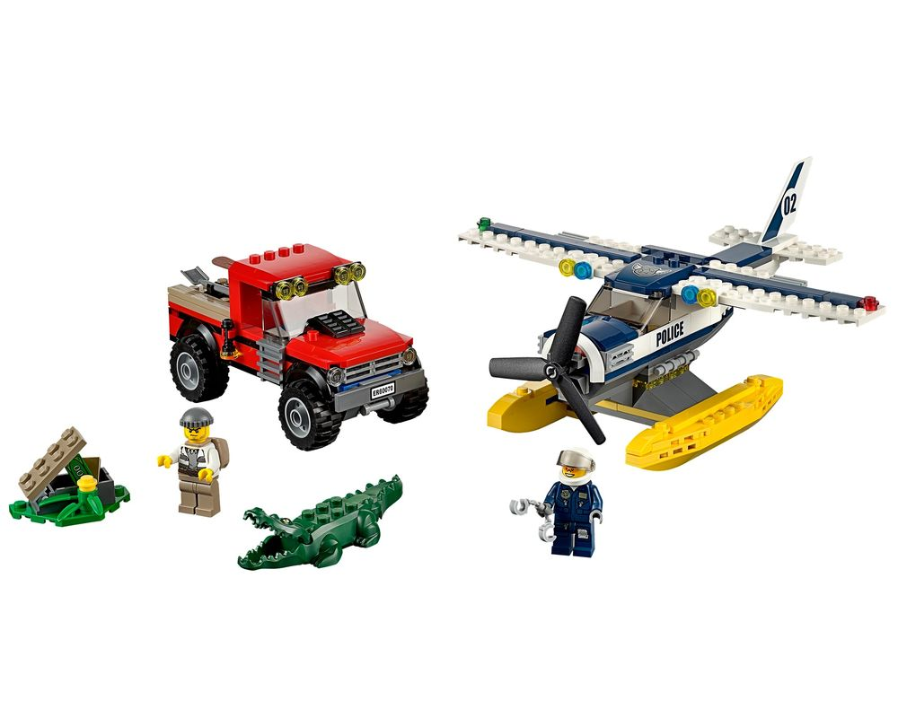 LEGO Set 60070-1 Water Plane Chase (LEGO - Model)