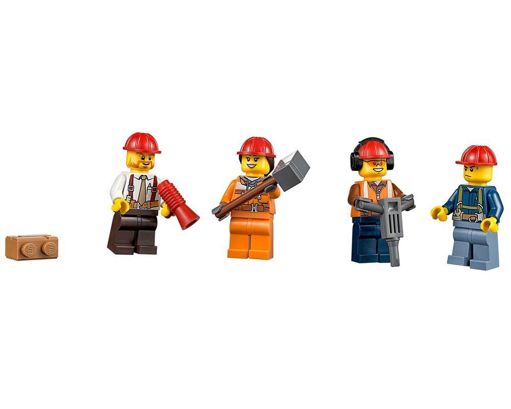 LEGO Set 60072-1 Demolition Starter Set