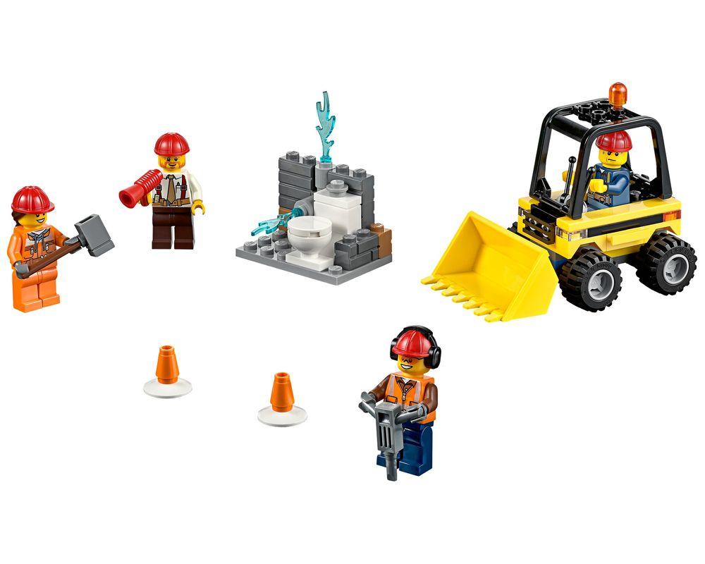 LEGO Set 60072-1 Demolition Starter Set (Model - A-Model)