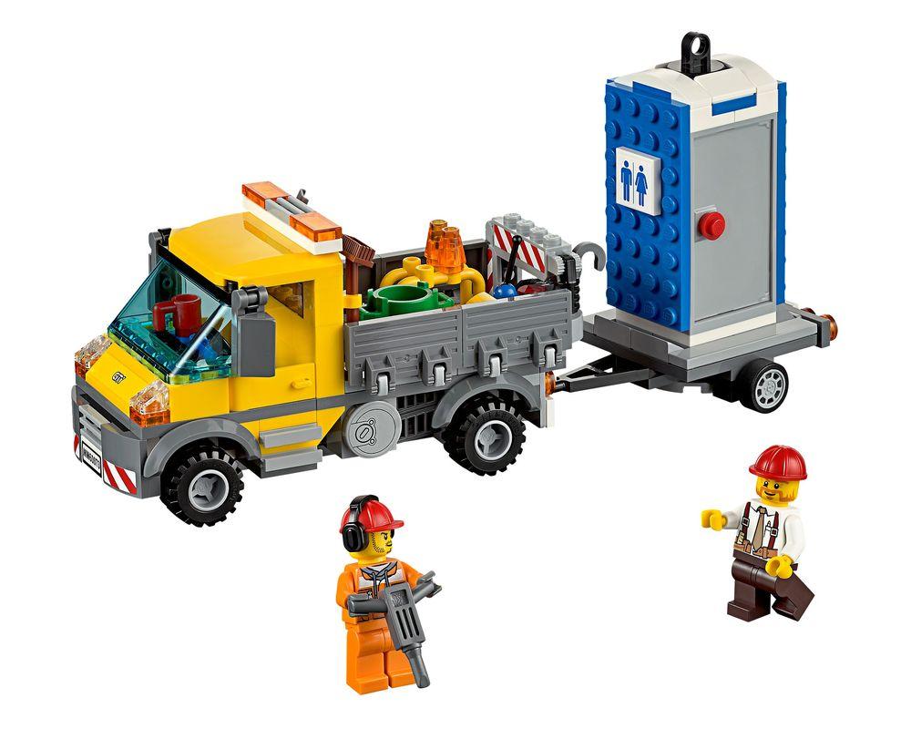 LEGO Set 60073-1 Service Truck (LEGO - Model)